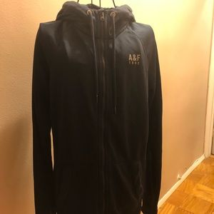Men's Small A&F hooded jogging jacket